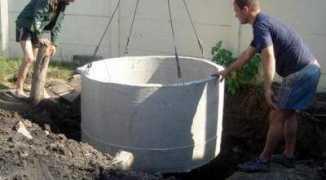 Выгребная яма из бетонных колец своими руками — технология постройки