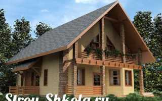 Двускатная крыша — инструкция по устройству