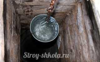 Очищаем колодезную воду самостоятельно — наглядное пособие