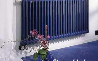 Методика расчета секций радиаторов отопления