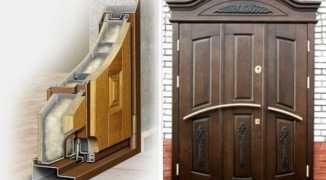 Пошаговая технология утепления железной входной двери