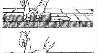 Видео кирпичная кладка методом вприсык — инструкция, технология кладки