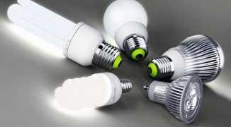 Особенности светового потока люминесцентных и светодиодных ламп с таблицами