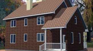 Схема отопления двухэтажного дома — рассмотрим особенности на примере