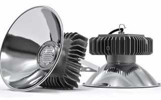 Особенности промышленных светодиодных светильников