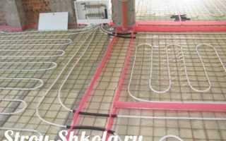 Теплый пол своими руками+ инструкция по монтажуи укладке плитки
