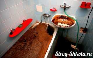 Засор канализации что делать — инструкция по устранению засора