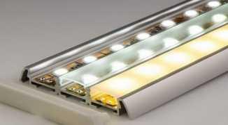 Особенности профилей для светодиодной ленты