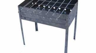 Металлический мангал своими руками: пошаговая инструкция по сборке