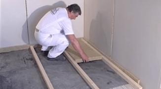 Утепление бетонного пола своими руками — инструкция