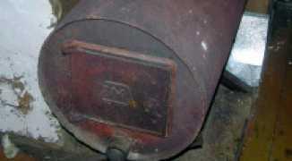 Как самому сварить печь для бани из трубы