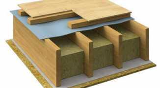 Возводим деревянные перекрытия между этажами, технология строительства