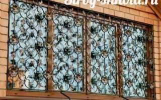 Технология — как сделать решетки на окна своими руками