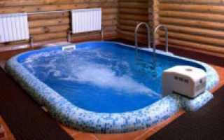 Баня с бассейном — образцы строительства примеры проектирования