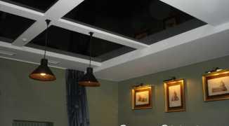 Инструкция по возведению двухуровневого натяжного потолка