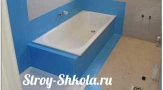 Устройство гидроизоляции пола в ванной — пошаговая технология