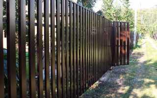 Забор из штакетника своими руками — инструкция, фото и видео