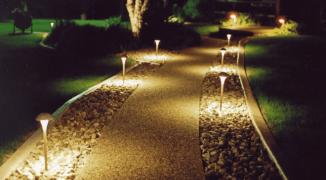 Выбор и самостоятельное создание освещения ландшафта вашего участка