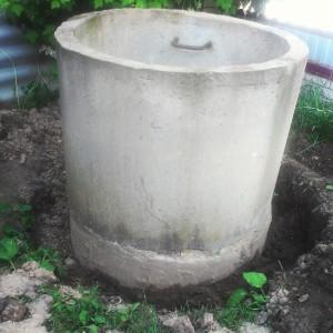 Делаем домик для колодца из бетонных колец шаг 1