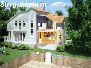Строит дом своими руками