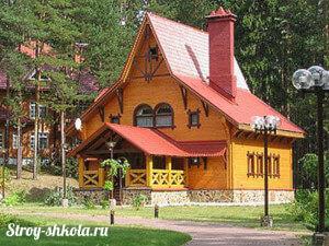 Красивый дом построенный своими руками