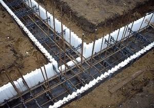 Процесс установки бетона