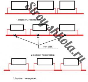 Разновидности системы Ленинградка