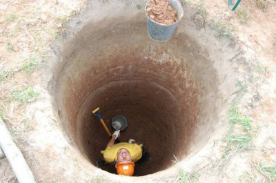 387Как выкопать колодец своими руками с кольцами