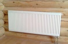 Отопление в деревянном доме своими руками