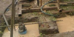 Пример полупогружного насоса