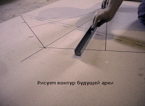 Рисуем контур