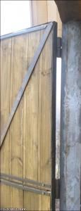 Как приварить петли на ворота