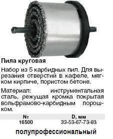 Кольцевые коронки для сверления используются для отверстия большего диаметра