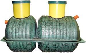На рисунке показан образец пластикового септика