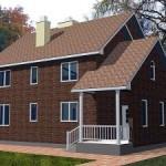Cхема отопления двухэтажного дома