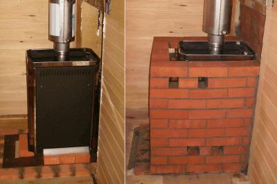 Как обложить металлическую печь кирпичом — инструкция