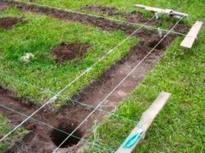 Процесс удаление земельного слоя для фундамента