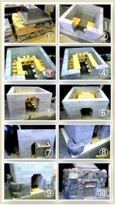 Конструкция печи для бани по черному