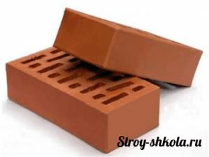 Образец облицовочного керамического кирпича