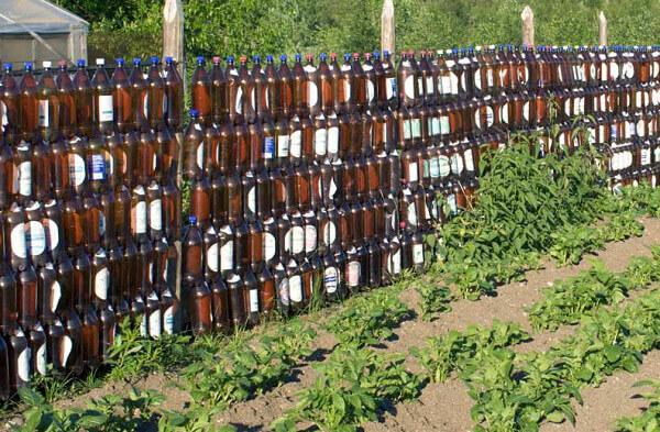 Забор в огороде своими руками фото