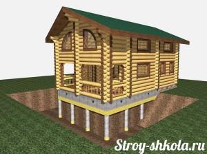 Делаем свайно-лентончный фундамент для дома своими руками