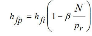 Формула для расчета деформации пучения