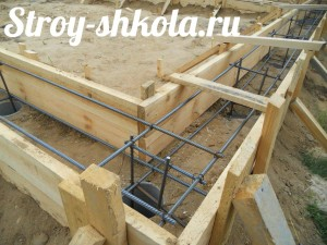 Процесс создания деревянной опалубки