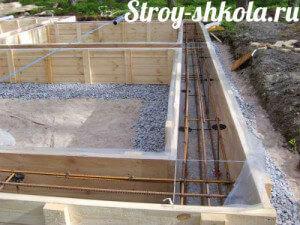 Процесс укладки полиэтиленовой пленки для гидроизоляции