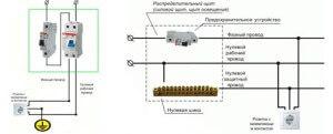 Схема подключения стиральной машины к электропроводке