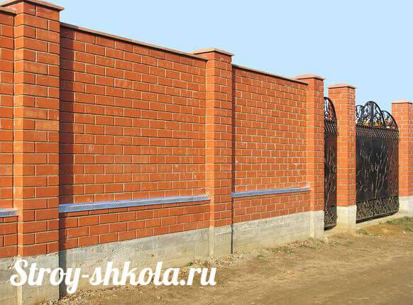 Строительство забора своими руками – Школа строительного мастерства