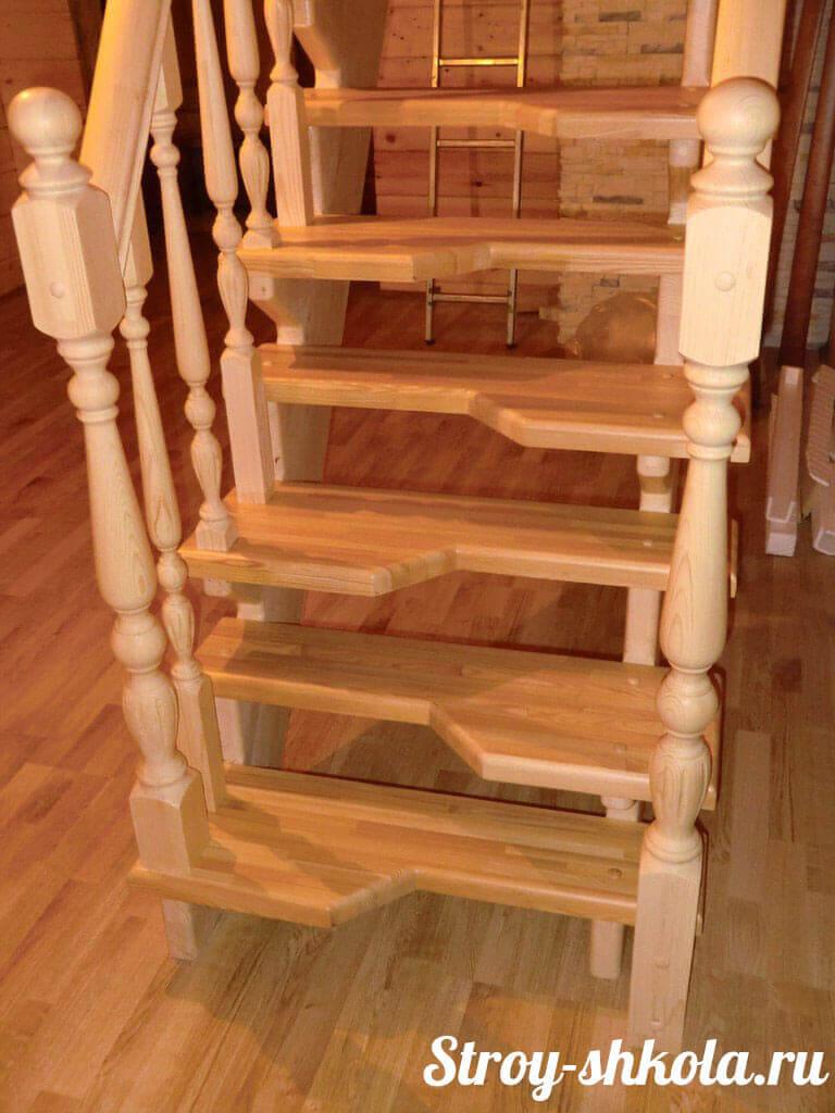 Лестница из картона своими руками