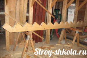 Изготовление косоуров для лестницы
