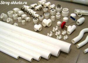 Комплект полиэтиленовых труб