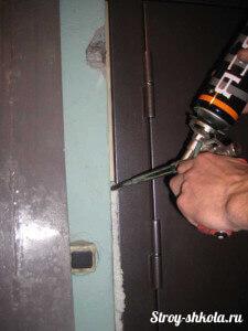 Технология утепления дверной коробки пеной